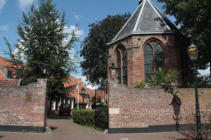 Photo Hofje Armen de Poth en Amersfoort, Voir, Sites touristiques, Quartier, place, parc - #1