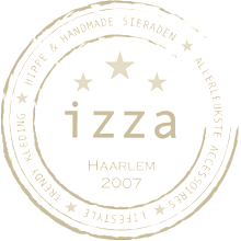 logo magasin Izza in Haarlem