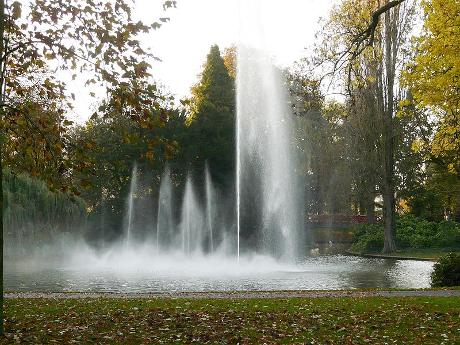 Photo Park Valkenberg en Breda, Voir, Quartier, place, parc