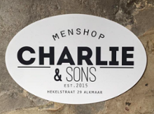 logo magasin Charlie & Sons in Alkmaar