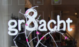 logo magasin Gr8acht in Amsterdam