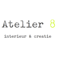 logo magasin Atelier 8 in Haarlem