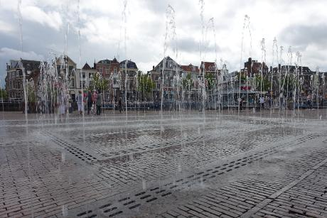 Photo Beestenmarkt en Leiden, Voir, Quartier, place, parc