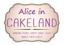 logo magasin Alice in Cakeland in Rotterdam