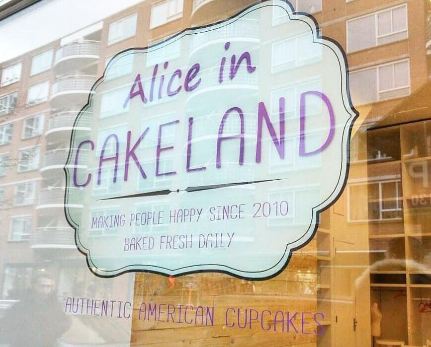 Photo Alice in Cakeland en Rotterdam, Shopping, Acheter des gourmandises - #1