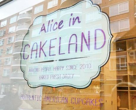 Photo Alice in Cakeland en Rotterdam, Shopping, Acheter des gourmandises