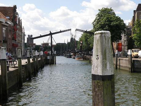 Photo Wolwevershaven en Dordrecht, Voir, Quartier, place, parc
