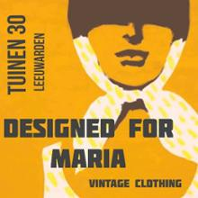 logo magasin Designed For Maria Vintage Clothing in Leeuwarden