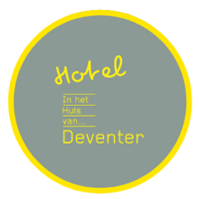 logo logement Hotel in het huis van Deventer in Deventer